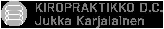 Logo - Kiropraktikko Jukka Karjalainen
